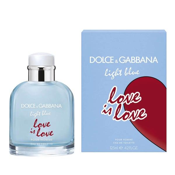 Light Blue Love Is Love hombre