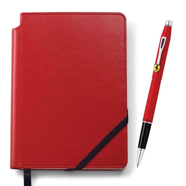 agenda y bolígrafo para papá