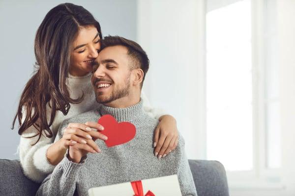 esposos en san valentin