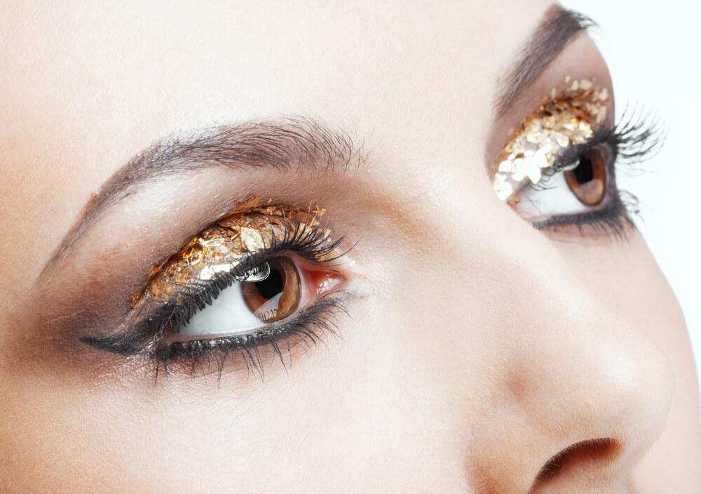 maquillaje glossy ojos