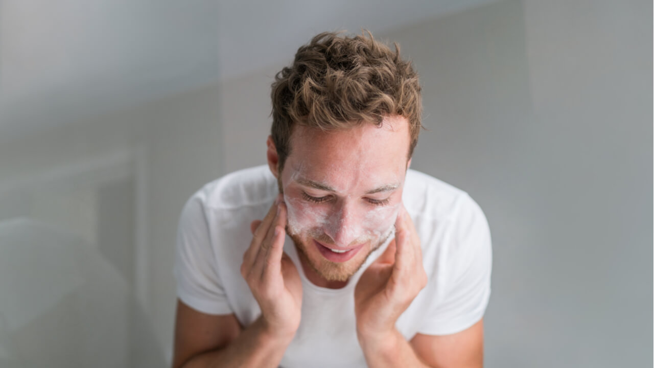 limpieza facial para hombre